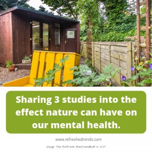 Can nature help us be mentally healthy?
